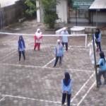 Suasana olahraga SMK Islam 1 Prambanan